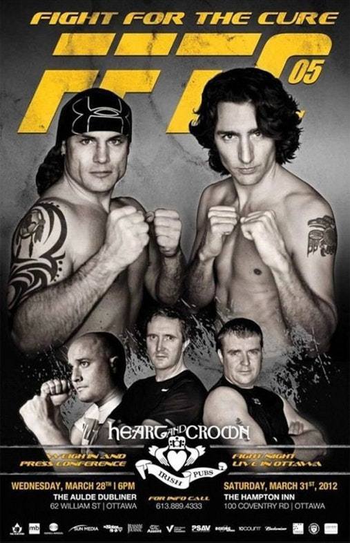 Trudeau Boxing Poster