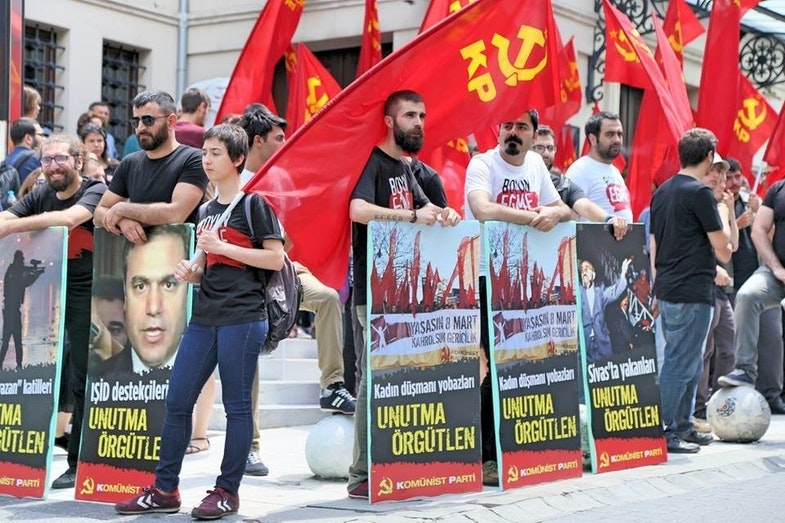 сommunists turkey
