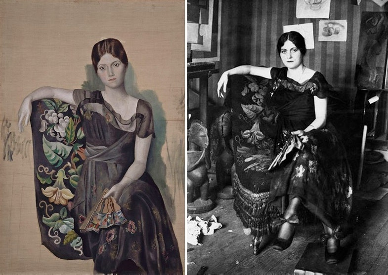 Olga armchair Picasso
