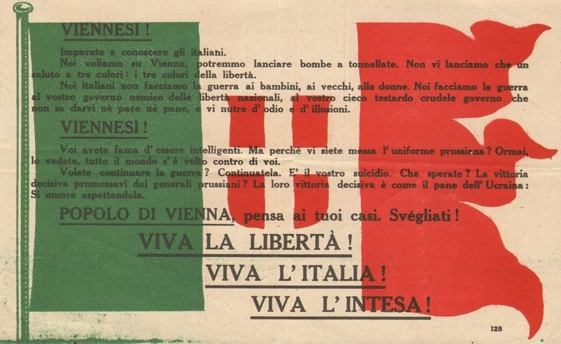 Fiume leaflet