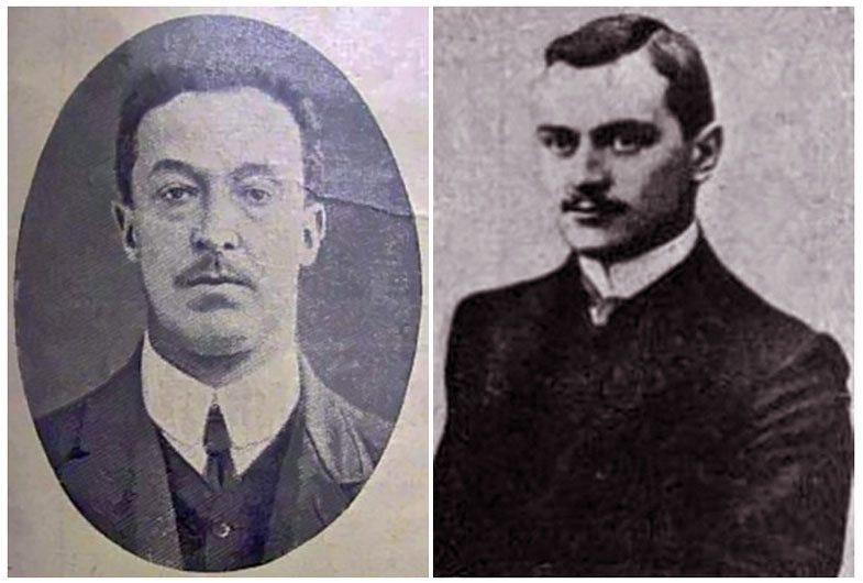 Donat Prilukov and Nikolai Naumov