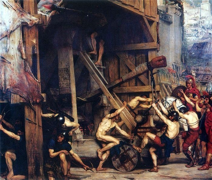 Osada i razrushenie Ierusalima rimlyanami pod komandovaniem Tita, 70 god.