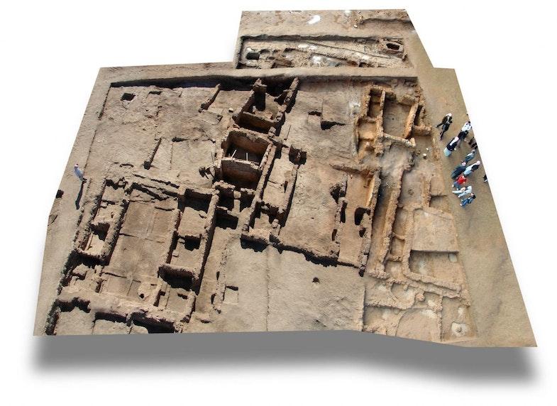 Fragment razvalin Hamukara