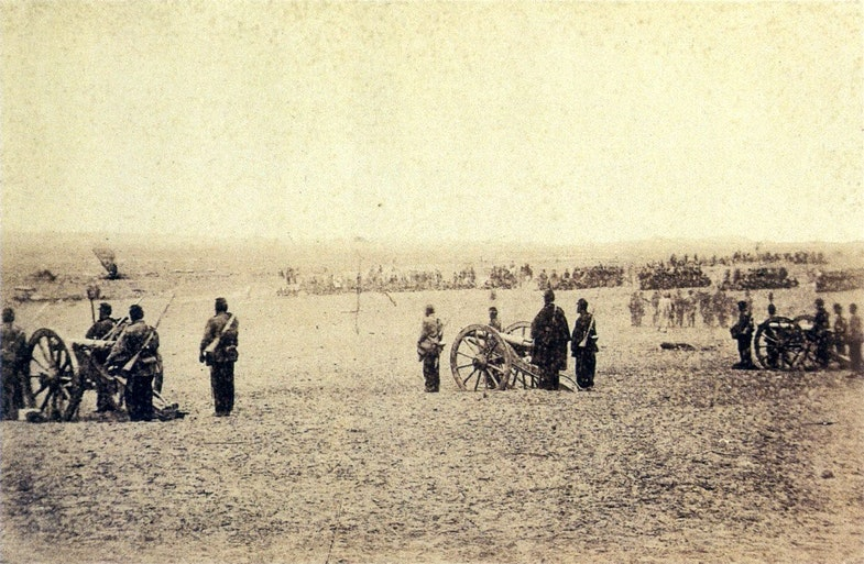 uruguayan artillery, July 18, 1866