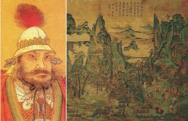 An Lushan Emperor Xuan Zong