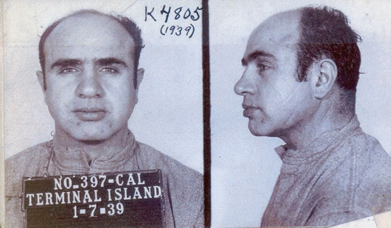 Al Kapone, 1939 g.