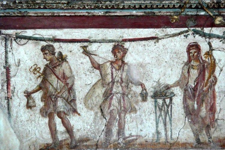 Termopoliy Vetutsio Platsido. Freska