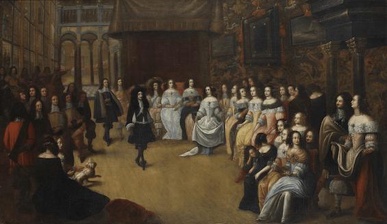 Karl II i Katarina Bragansskaya