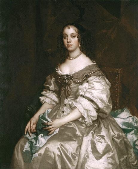 Katarina Bragansskaya. Primerno 1665 g.