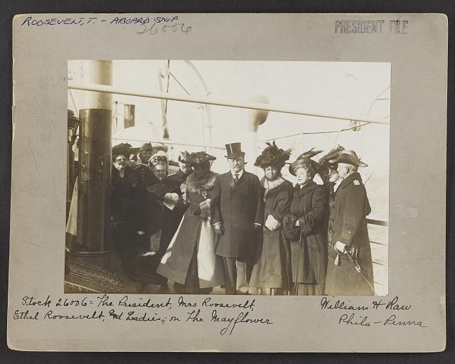 Prezident Ruzvelt, Etel Ruzvelt i damyi na