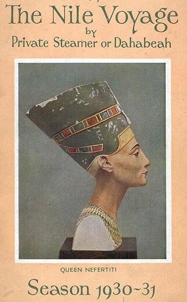 Oblozhka broshyuryi o puteshestvii po Nilu kompanii Tomasa Kuka v 1930-m godu