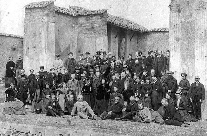 Участники тура, 1866 г.