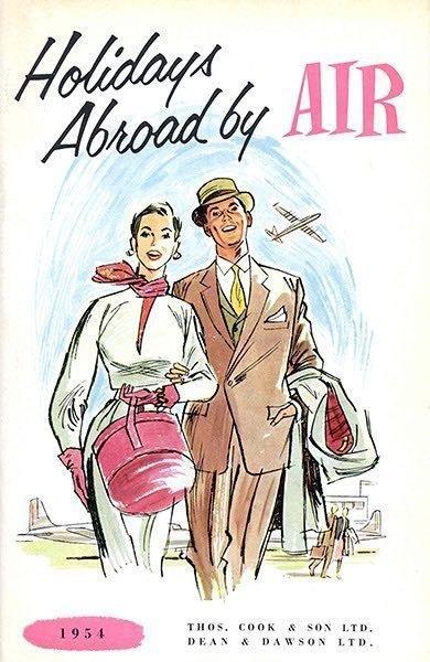 Reklamnaya broshyura, 1954 g.