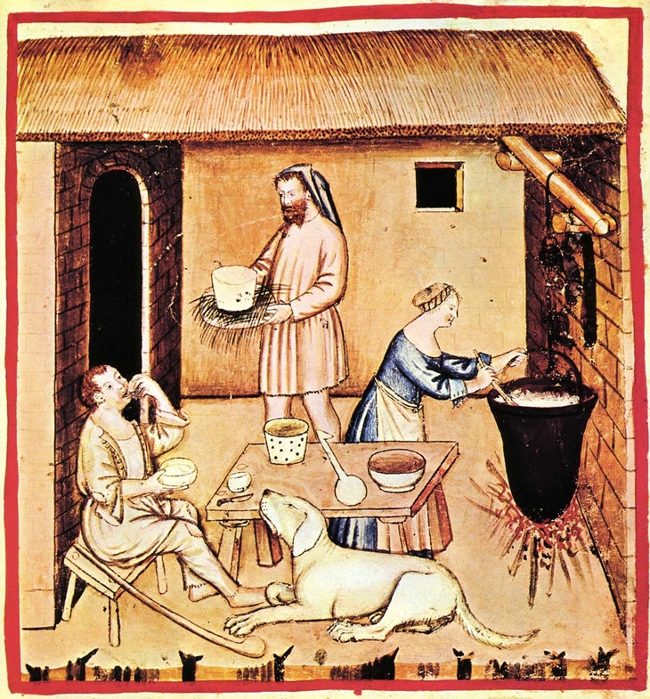 Izgotovlenie syirov, 14 st.