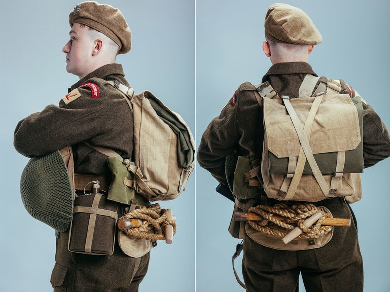 аorma britanskogo pekhotintsa form of a british infantryman