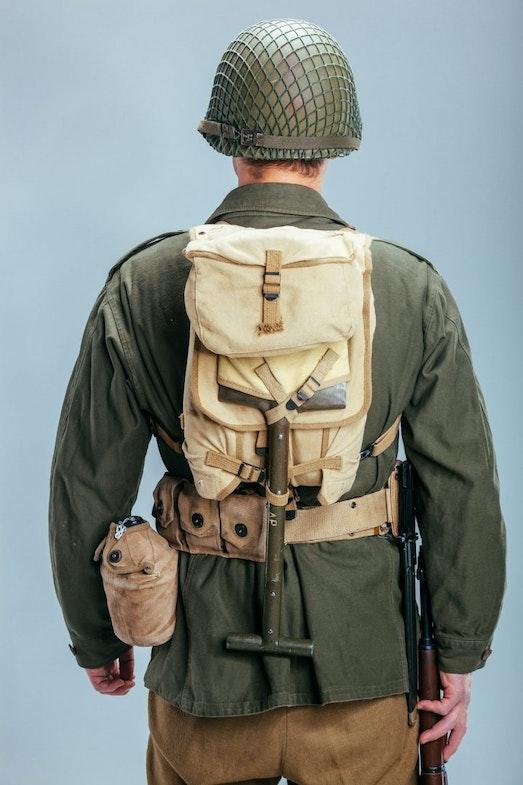 military uniform american infantryman