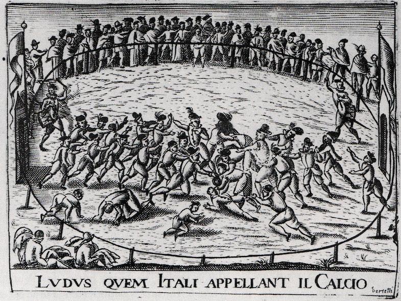 Kalcho vo Florentsii, 1642 g.