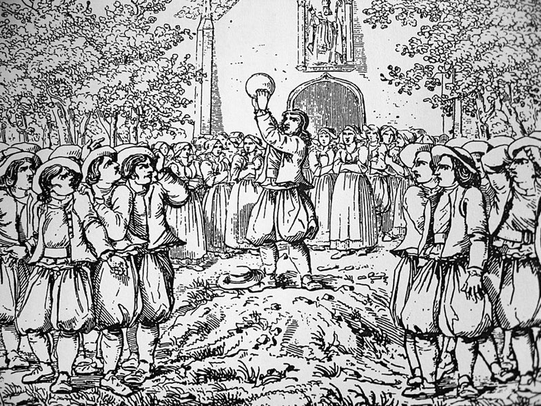 Igra v «lya sul» v regione Bretan (Frantsiya), 18 vek