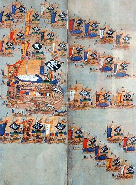 Izobrazhenie na koreyskoy shirme 1880-h godov