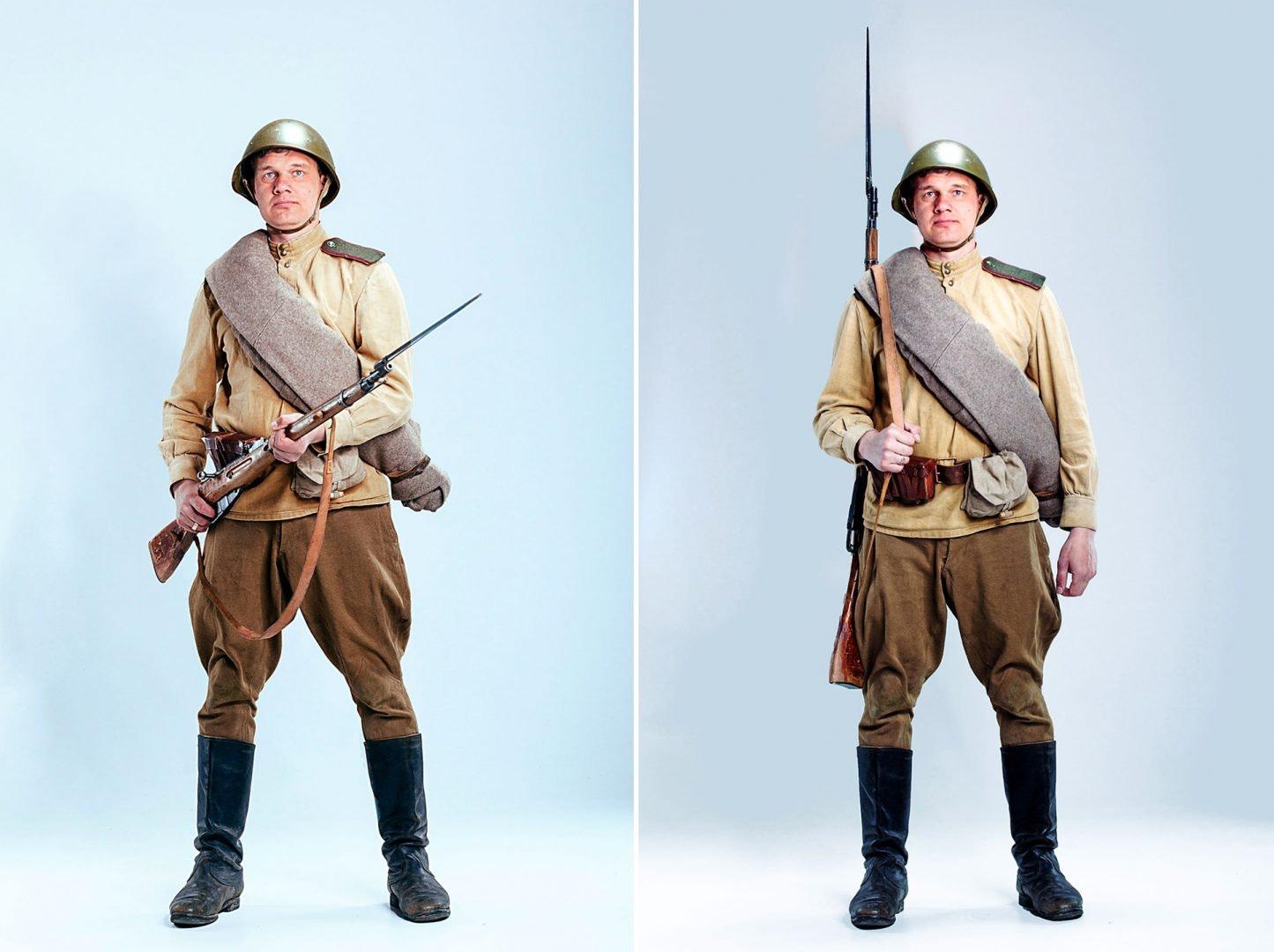 form soviet infantryman