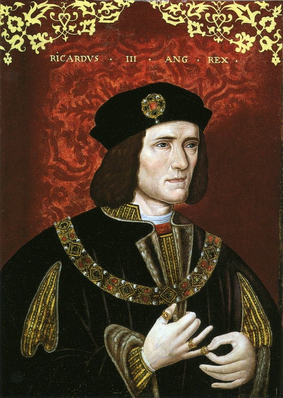 Portret angliyskogo korolya Richarda III, nachalo 16 veka