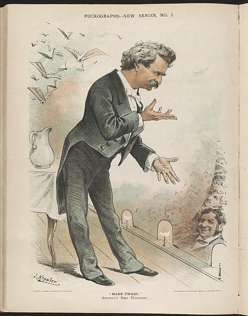 Mark Tven. Illyustratsiya: Keppler, Joseph Ferdinand