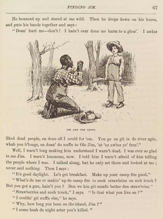 Priklyucheniya Geklberri Finna, izdanie 1885 g.