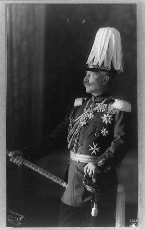 Vilgelm II, 1913 g.