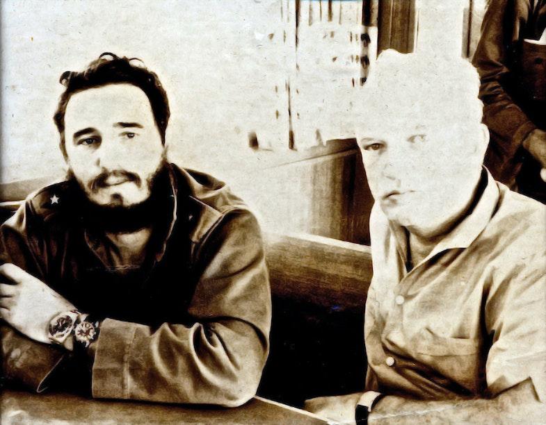 Fidel Castro and James Donovan