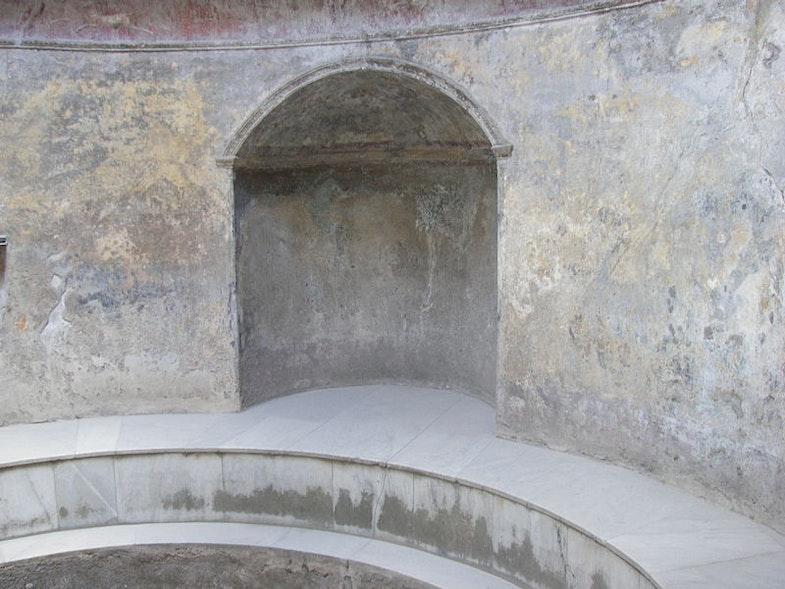 Frigidariy v termah Foruma (Pompei)