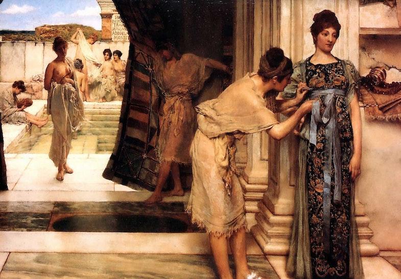 """Kartina Alma-Tademyi """"Frigidariy"""", 1890 g."""