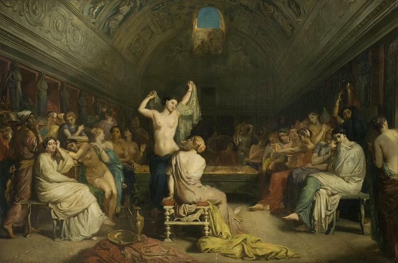 Tepidariy. Lourens Alma-Tadema 1853 g.