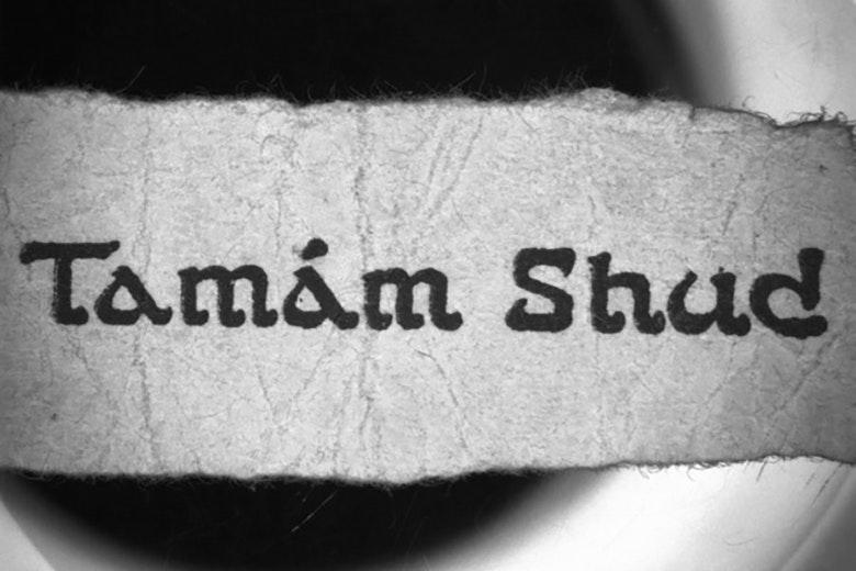 Tamam Shud