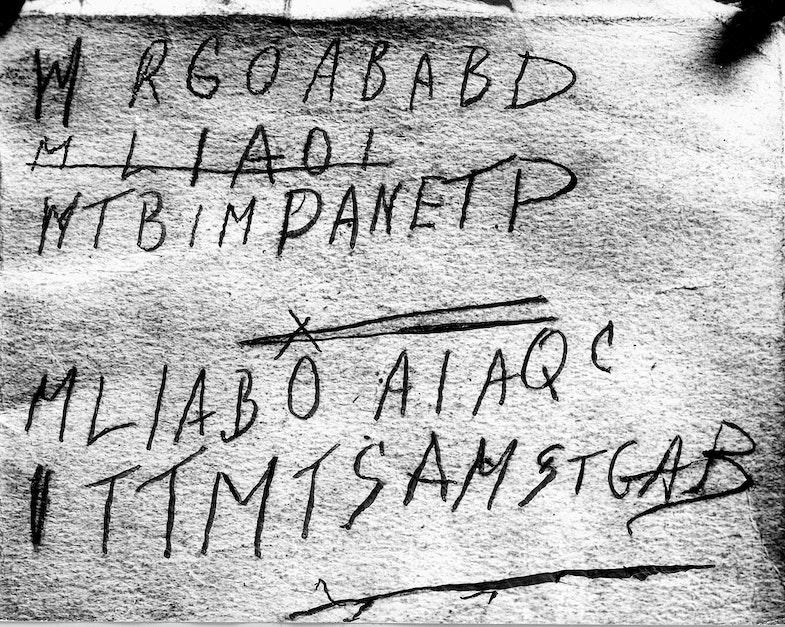 Tamam Shud cipher