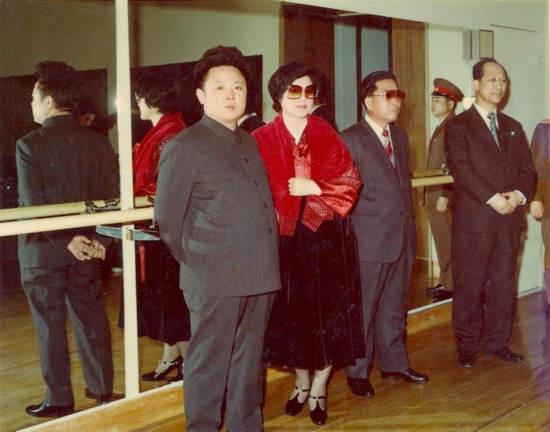 Choi Eun-hee, Kim Jong-il