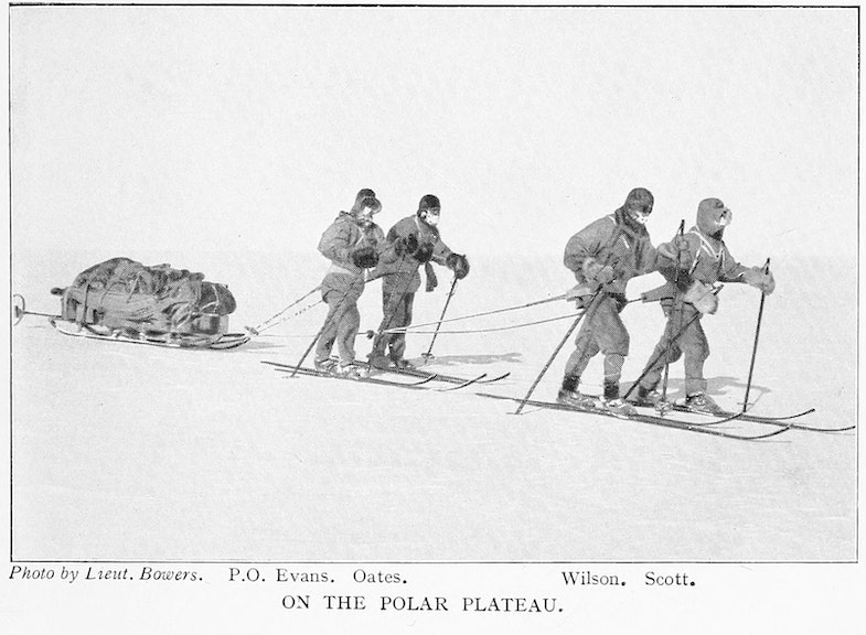 Members of Scott's expedition