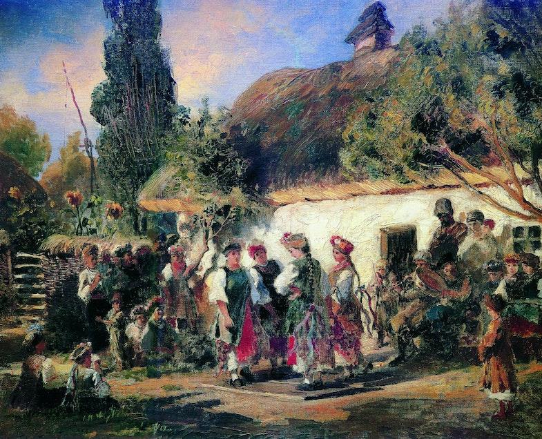 K. Makovsky celebration in Ukraine