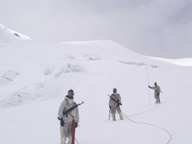 Siachen Glacier indian troops