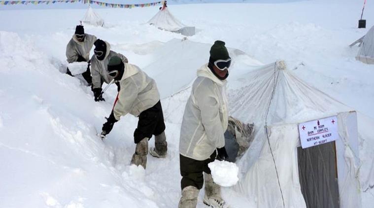 Siachen Glacier indian troops