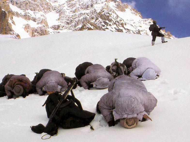 Siachen Glacier pakisanian troops