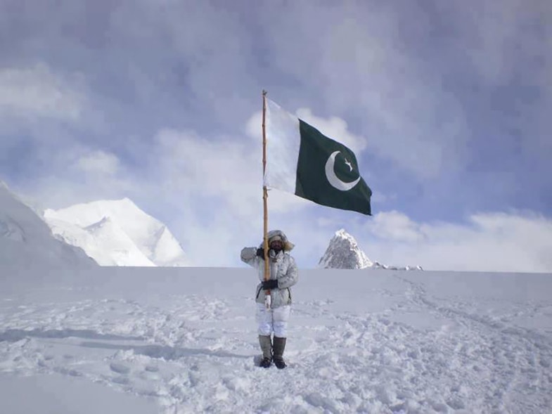 Siachen Glacier pakisanian troops