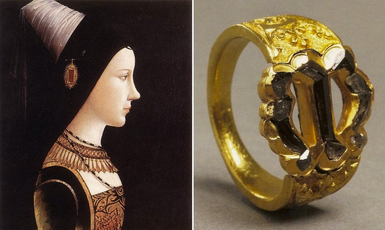 Maria of Burgundy wedding ring