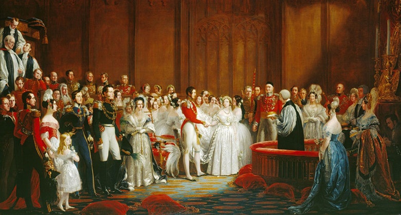wedding Queen Victoria