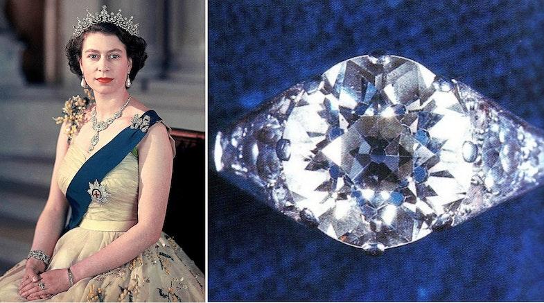 Queen Elizabeth's wedding ring