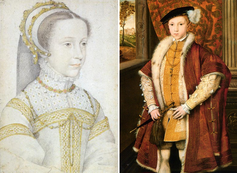 Maria Stuart Edward VI
