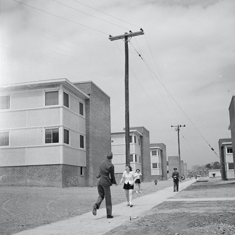 Arlington Farms, war duration residence halls