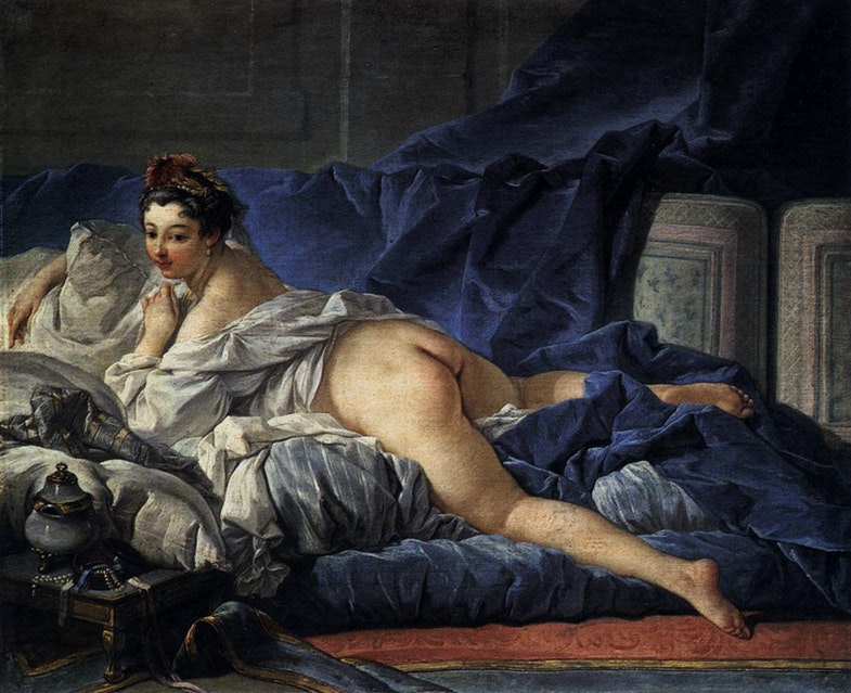 Brown Odalisque