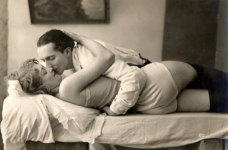Немое кино начало века порно