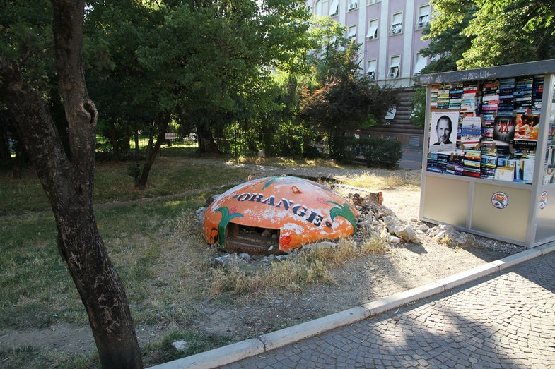 Albanian bunker Tirana