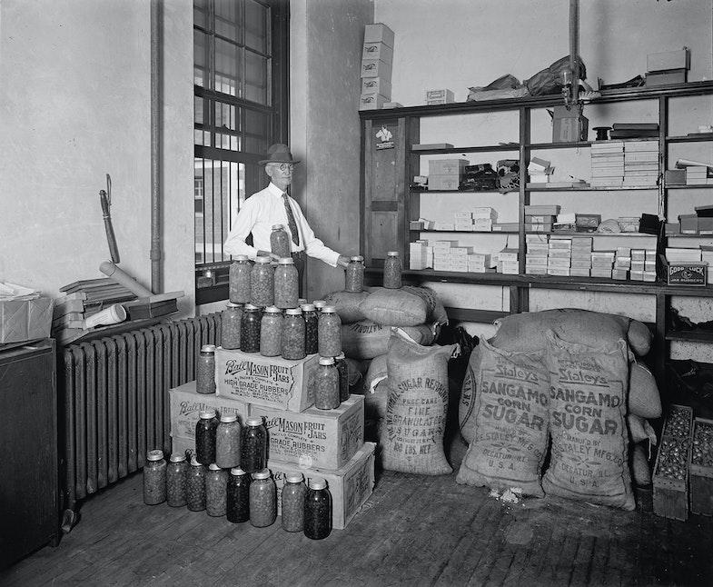 Utilization of confiscated bootleg paraphernalia